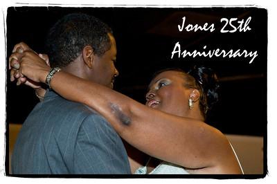 Jones 25th Anniversary