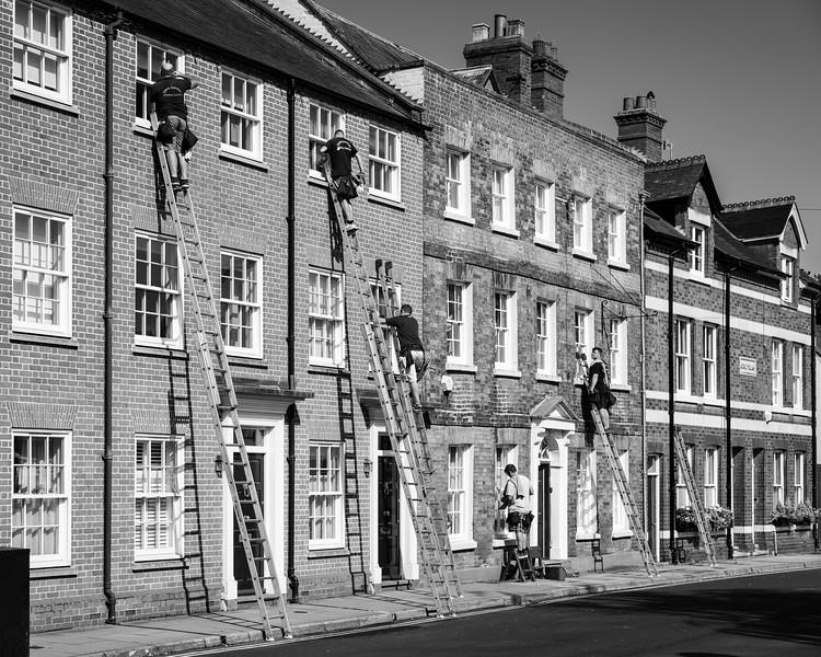 'Ludlow Laddermen' - Shropshire, England