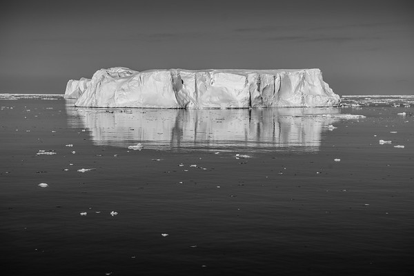 Antarctica in Black and White