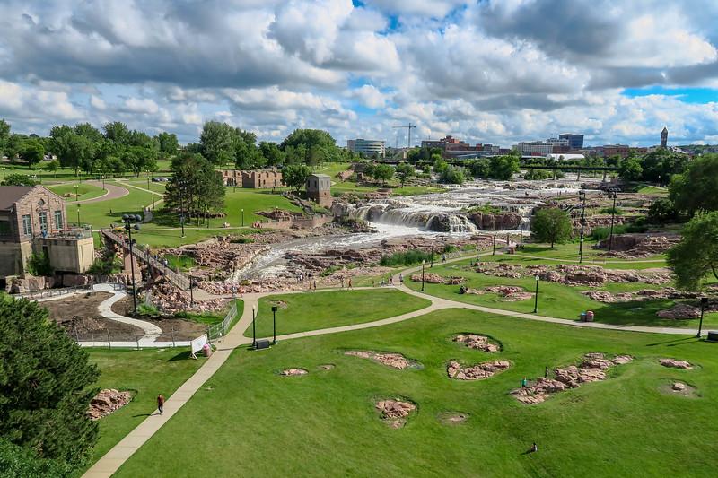 Falls Park @ Sioux Falls, SD (7-5-19)