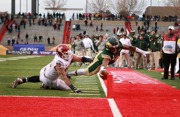 CSU vs. WSU New Mexico Bowl