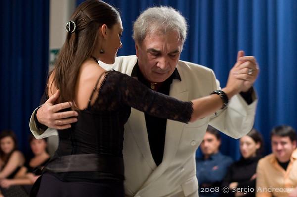 Milonga del 3 Dicembre 2008 con El Pibe Sarandì y Veronica Lorenzoni