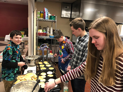 Pancake Throwdown Breakfast 2019