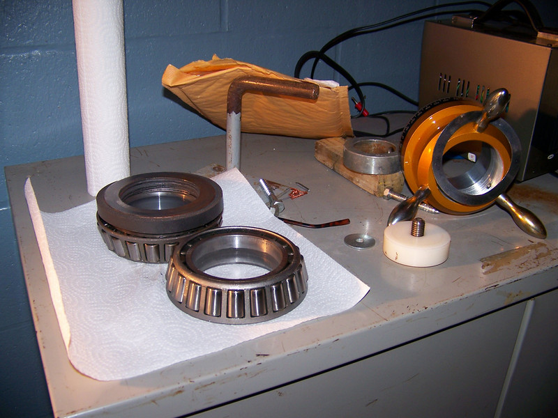 bearings after removal.