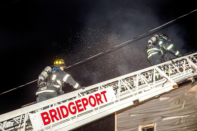 Union Ave. Fire (Bridgeport, CT) 2/24/17