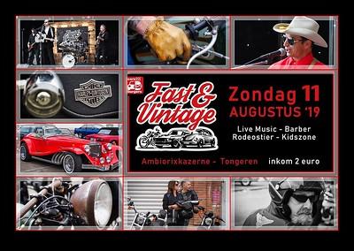 Fast & Vintage @ Ambiorixkazerne Tongeren  11/08/2019