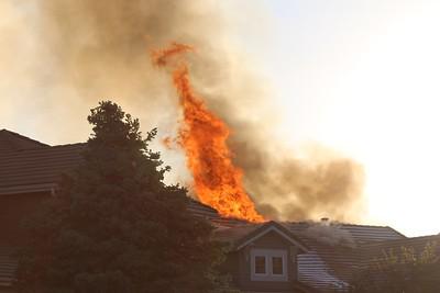 Littleton Greensborogh Drive Fire