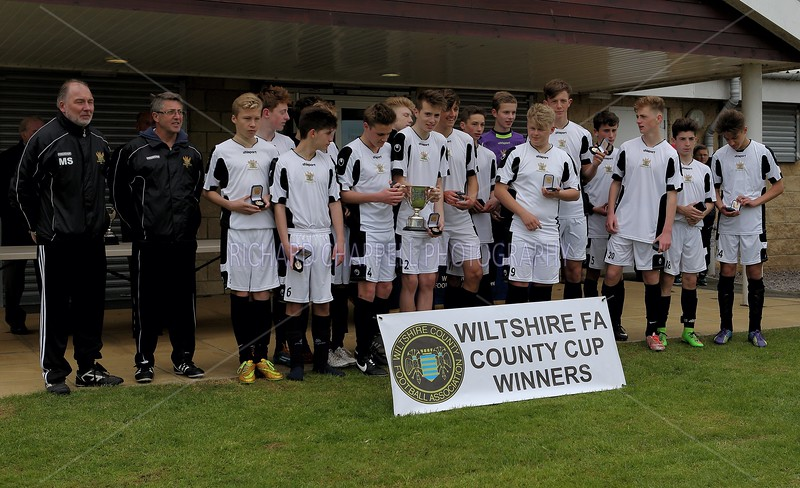 WROUGHTON YOUTH V SALISBURY CITY YOUTH U15 CUP FINAL 26th April 2015