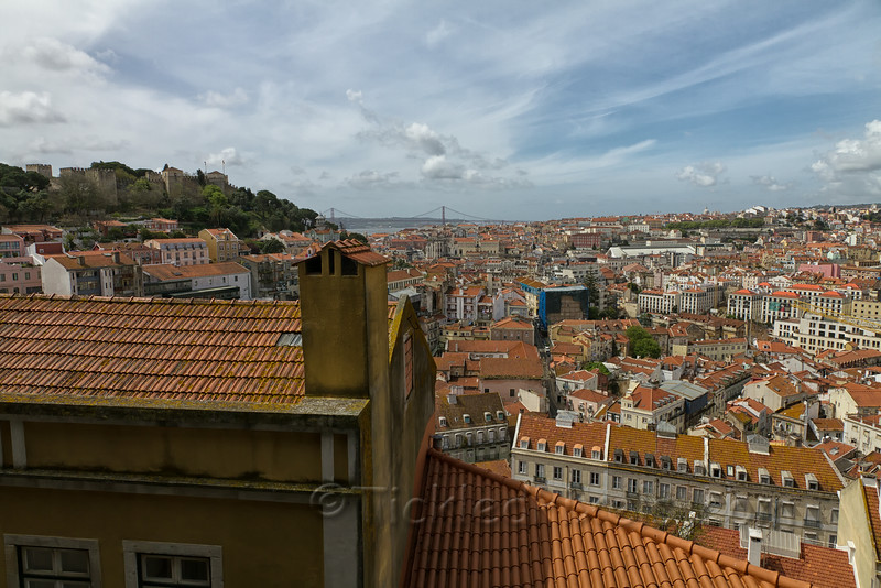 Castelo de São Jorge over Lisbon