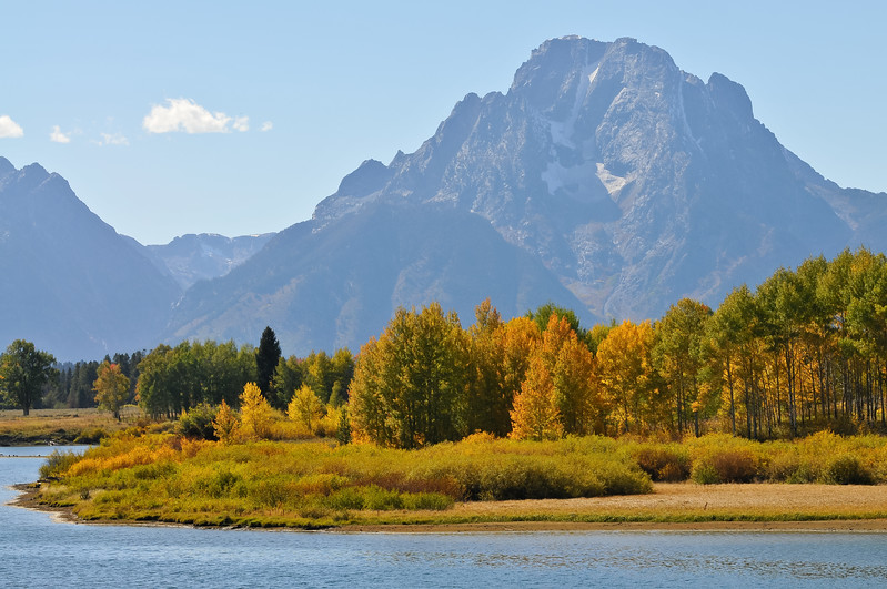 Mount Moran from the Oxbow.