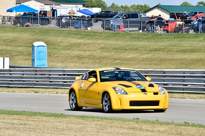 2020 SCCA July 29 Pitt Race Interm Yellow NISSAN