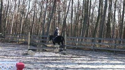 Dickens 12-24-11 - Karen Rides