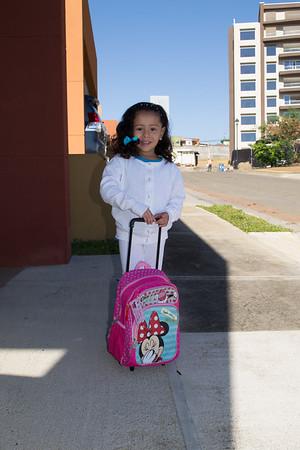 Ashley ingreso al kinder 2015