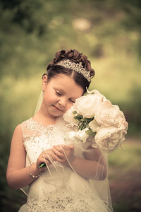 Lia First Holy Communion