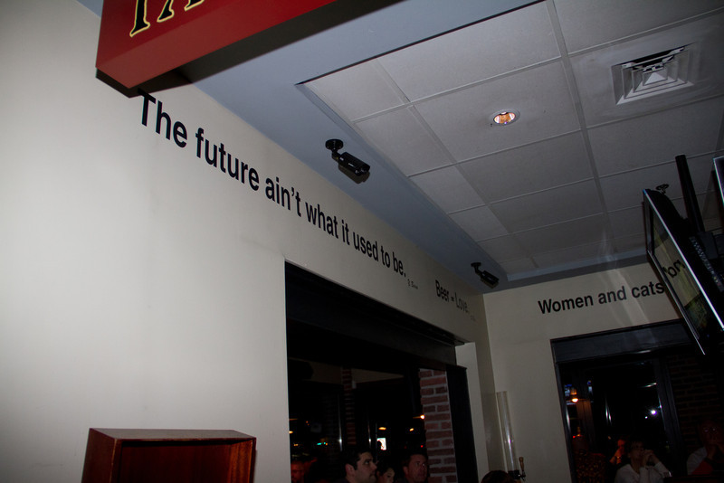 The Future Aint What it Used to Be -- Beer Love Women and Cats.  Wow