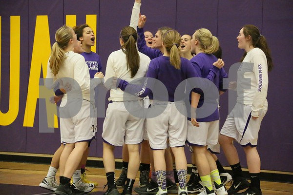 2014-01-29 IHS Girls Basketball vs Woodinville