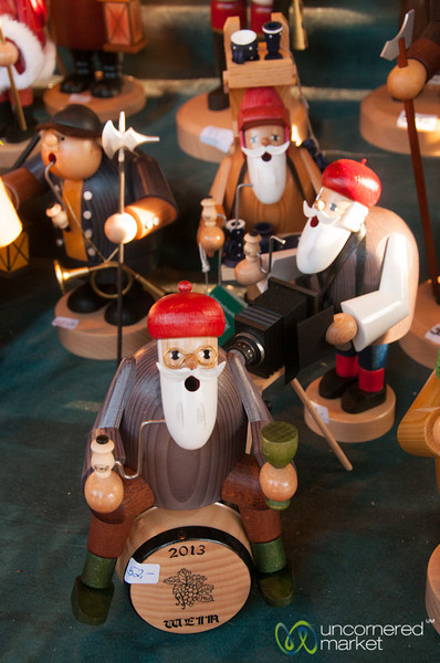 Smoking Men (Räuchermann) at the Ludwigsburg Christmas Market, Germany