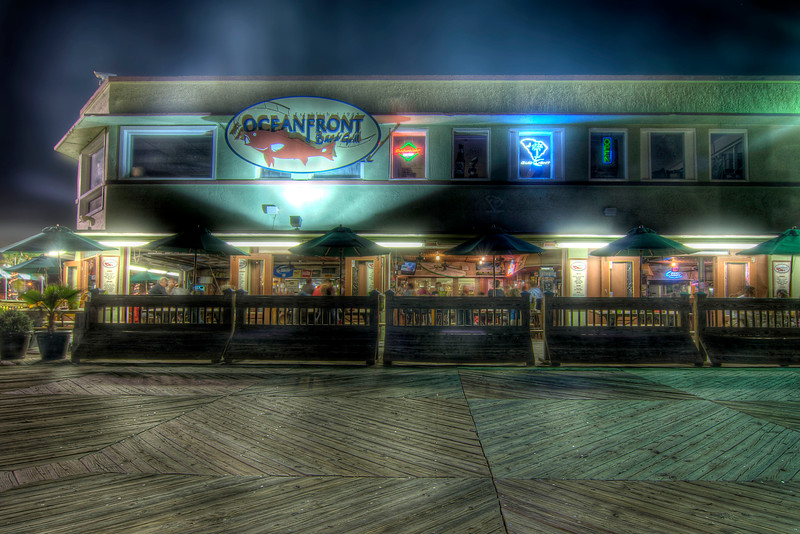 Oceanfront Bar & Grill on the Boardwalk in Myrtle Beach, SC on Saturday, June 9, 2012. Copyright 2012 Jason Barnette