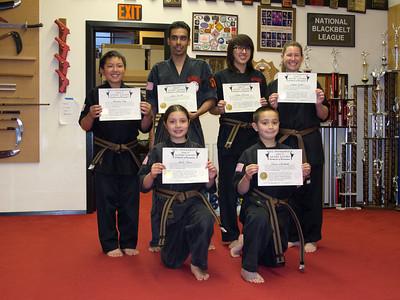 2011-07-08 Brown Belt Promotions
