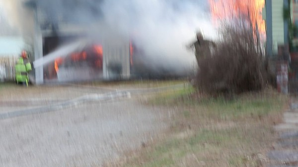 BARN FIRE 11C BRASHER FALLS 11/20/2020