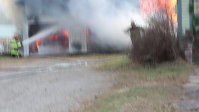 BARN FIRE 11C BRASHER FALLS 11/20/2020