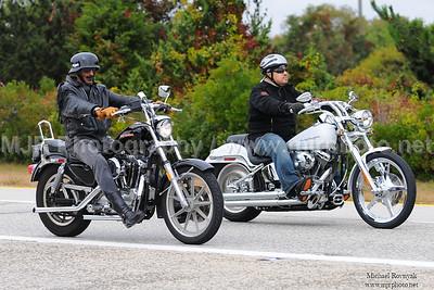 Rev-4-Dev Motorcycle Run, Ocean Parkway, NY, (10-05-08)