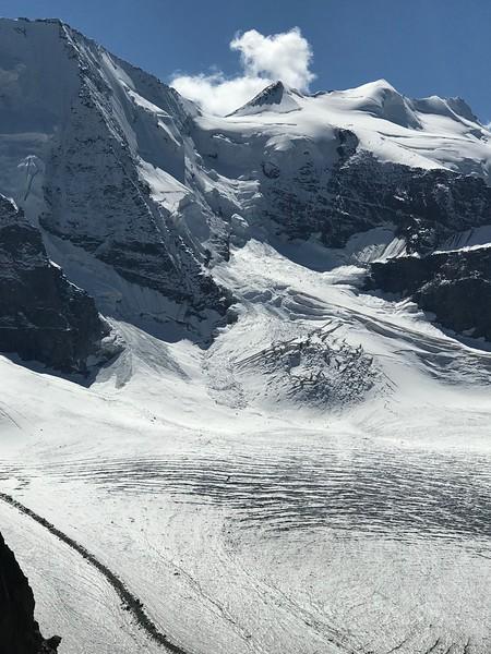 Bellavista and Pers Glacier