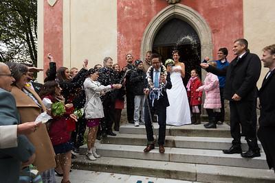 Janička a Marek svatba 17.10.2015