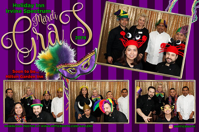 Holiday Inn Irvine Spectrum Mardi Gras