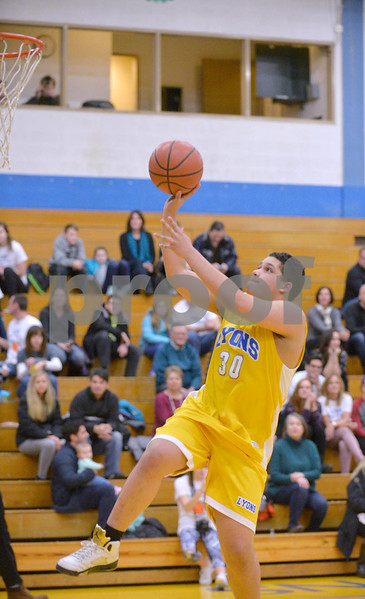 Lyons Township Pack the Place hoops for Special Olympics