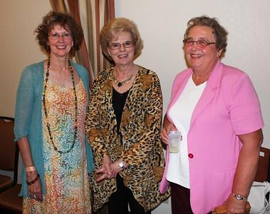 Anne (Doell) Walker, Sherry (Bach) Phelan, and Linda (Van Sant) Marshall.