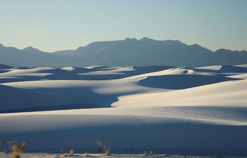 White Sands dunes, New Mexico