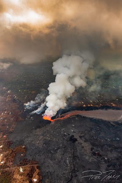 Eruption of Fissure Eight