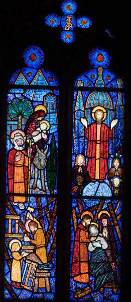 Etrepagny, Flight into Eygpt, Ascension of Christ, Death of Joseph