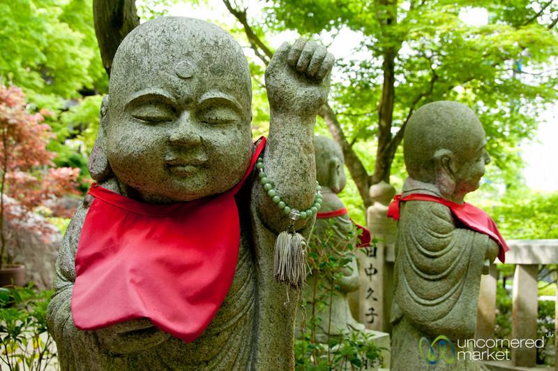 Buddhist Statues, Daisho-In Temple - Miyajima, Japan