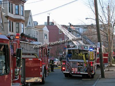 Boston- 2nd Alarm- East Eagle Street-11/18/08