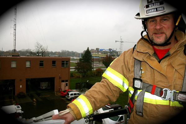 "Julian ""gets high"" at Sarnia Fire"