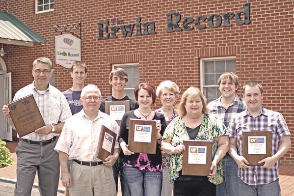 The Erwin Record staff 2011