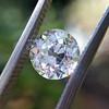 1.10ct Old Mine Cut Diamond, GIA J VVS2 3