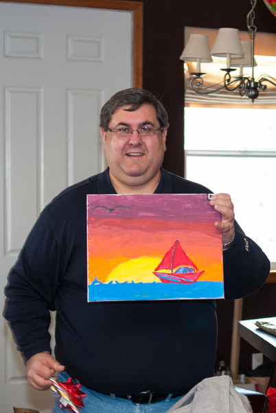 A painting for Victor
