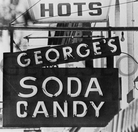 Bear Fountain and George's Soda Shop