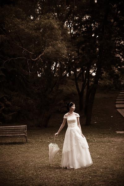 Wedding portraits in Hong Kong, China
