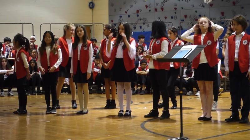Cheer Hill School Chorus Ambassadors