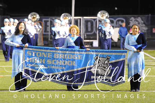 Band - Stone Bridge Marching Bulldogs 10.25.2018 (by Steven Holland)