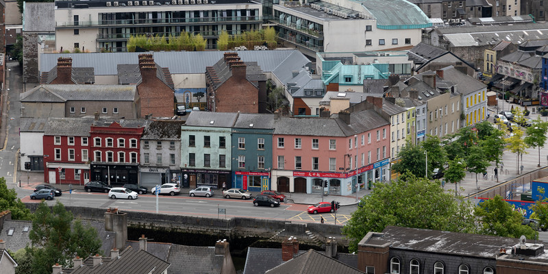 View of city, Shandon, Cork City, Ireland