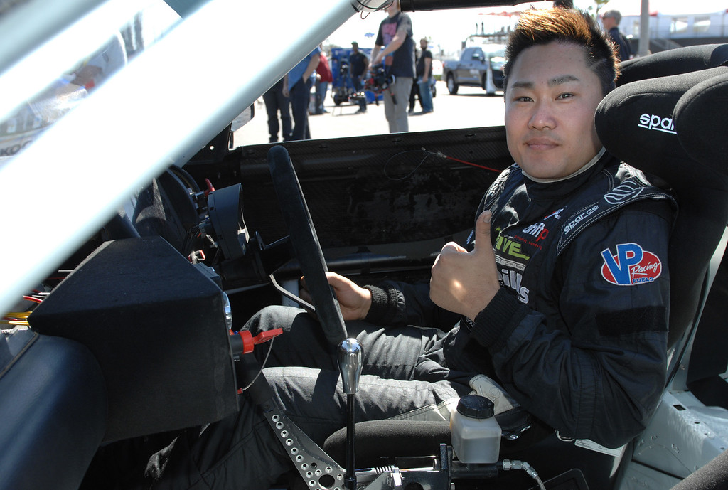 . 4/9/13 - Daigo Saito is the formula drifter defending champion and will compete at the  39th Annual Toyota Grand Prix of Long Beach.  Photo by Brittany Murray / Staff Photographer