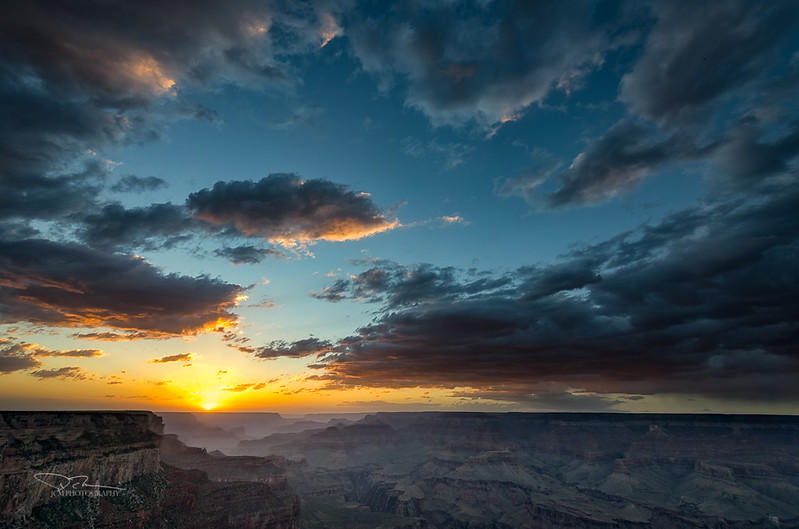 Grand Canyon Sunset from Yaki Pt.