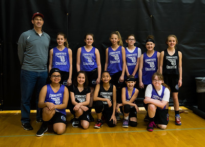 5th & 6th Grade Girls in Destiny League, February 17