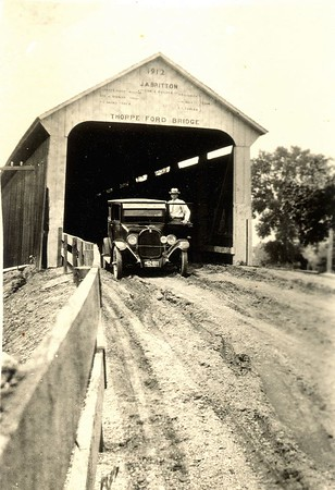 Thorpe Ford Covered Bridge