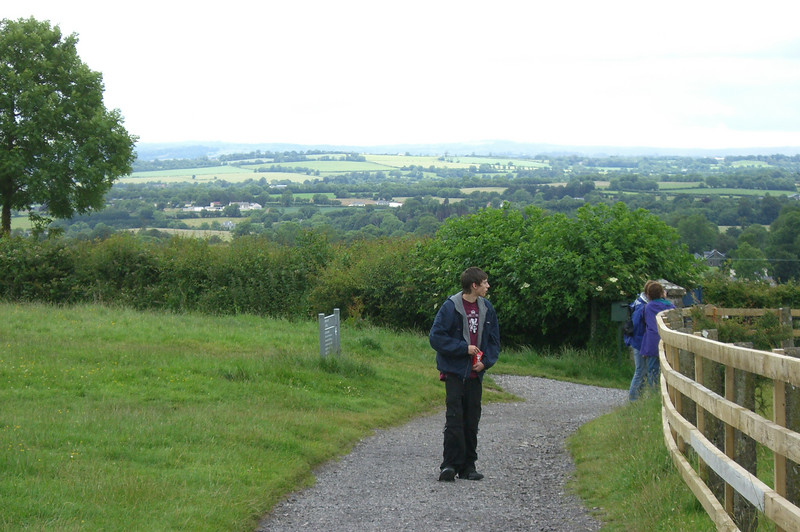 Going up to the Hill of Tara.  http://www.mythicalireland.com/ancientsites/tara/